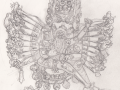 Vajrabhairava pencils